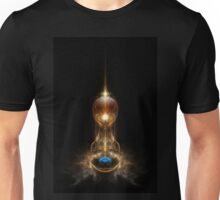 Orb Of Light Blue Pearl Unisex T-Shirt