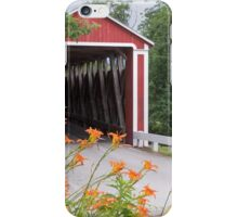 Stock-Heughter Covered Bridge iPhone Case/Skin