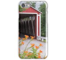 Stock-Heughter Covered Bridge iPhone Case/Skin