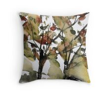 Raw Wind Throw Pillow