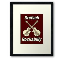 Old Gretsch Rockabilly Framed Print