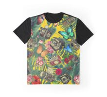 tropic yellow  Graphic T-Shirt