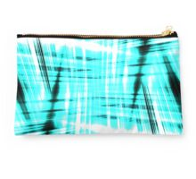 Black and blue streaks Studio Pouch