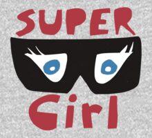Super Girl One Piece - Short Sleeve