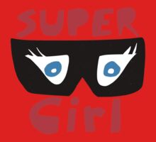 Super Girl Kids Tee