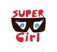 Super Girl Photographic Print