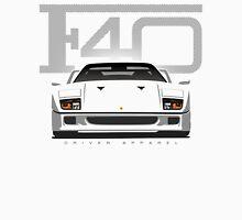 Ferrari F40 White Unisex T-Shirt