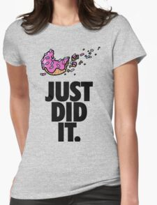 Bye Bye Diet Womens Fitted T-Shirt
