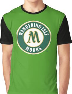 Monks - WoW Baseball  Graphic T-Shirt