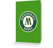 Monks - WoW Baseball  Greeting Card