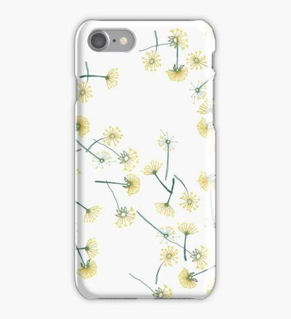 Real Dandelion Fluff iPhone Case/Skin