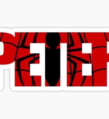 Peter Spider Sticker