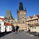 Charles Bridge in Prague by annalisa bianchetti