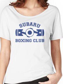 Subaru Boxing Club Women's Relaxed Fit T-Shirt