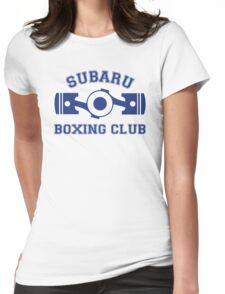 Subaru Boxing Club Womens Fitted T-Shirt