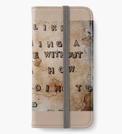 Art is like... iPhone Wallet/Case/Skin