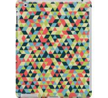 Multi Colored Triangle Pattern iPad Case/Skin