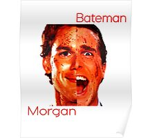 Bateman / Morgan Poster