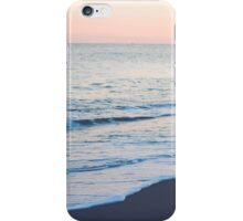 man on beach iPhone Case/Skin