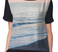 man on beach Chiffon Top