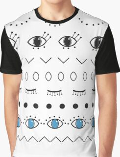 Pattern design with eyes  Graphic T-Shirt