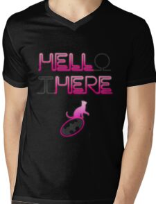 HELLo tHERE Mens V-Neck T-Shirt