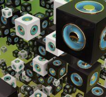 Cube Array Sticker