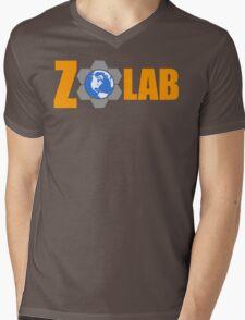 Z Lab Mens V-Neck T-Shirt