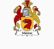 Monroe Coat of Arms / Monroe Family Crest Unisex T-Shirt