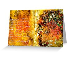 Earth Songs...Bliss Greeting Card