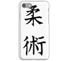 Jiu-Jitsu Kanji iPhone Case/Skin