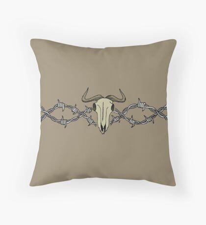 Buffalo Bill Throw Pillow