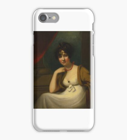 Thomas Lawrence, portrait of a lady iPhone Case/Skin