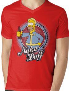 Mmmm Nuka Duff Mens V-Neck T-Shirt