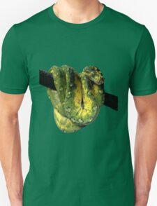 Green Tree Python Reptile Photography  Unisex T-Shirt