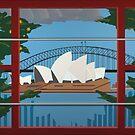 Sydney Harbour by Eldon Ward
