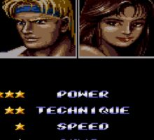Streets of Rage 2 – Select Max Sticker