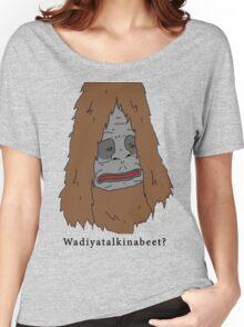 "Sassy the Sasquatch ""Wadiyatalkinabeet?"" Women's Relaxed Fit T-Shirt"