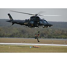Air Sea Rescue Demonstration @ Nowra Airshow 2008 Photographic Print
