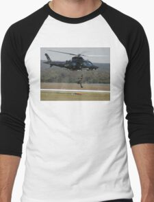 Air Sea Rescue Demonstration @ Nowra Airshow 2008 Men's Baseball ¾ T-Shirt