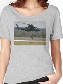 Air Sea Rescue Demonstration @ Nowra Airshow 2008 Women's Relaxed Fit T-Shirt