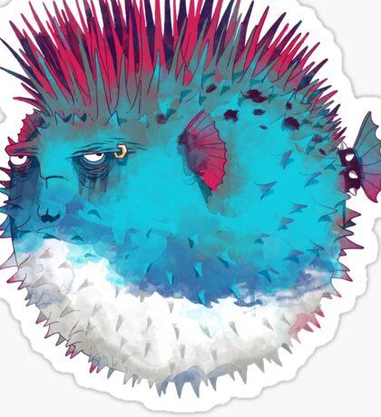 Punk Fish Sticker