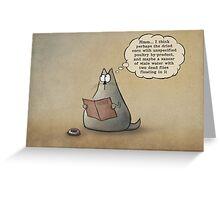 Menu Greeting Card
