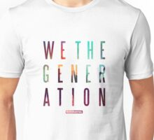 We The Generation Album by Rudimental Unisex T-Shirt
