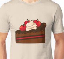 Cherry and chocolate cake Unisex T-Shirt