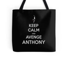Person of Interest KEEP CALM and AVENGE Anthony (scarface) Tote Bag