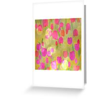 Tulips Love Greeting Card