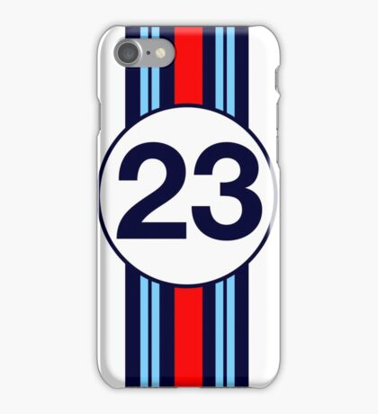 Martini Motor Racing Stripes iPhone Case/Skin