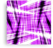 Black and purple streaks Canvas Print