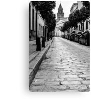 Streets of Seville Spain Canvas Print